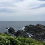 セローでツーリング 本州最南端 潮岬