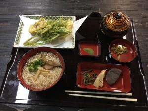播州山崎花菖蒲園_食事