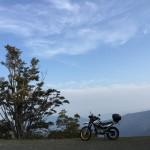 セローでツーリング おにゅう峠〜箱館山
